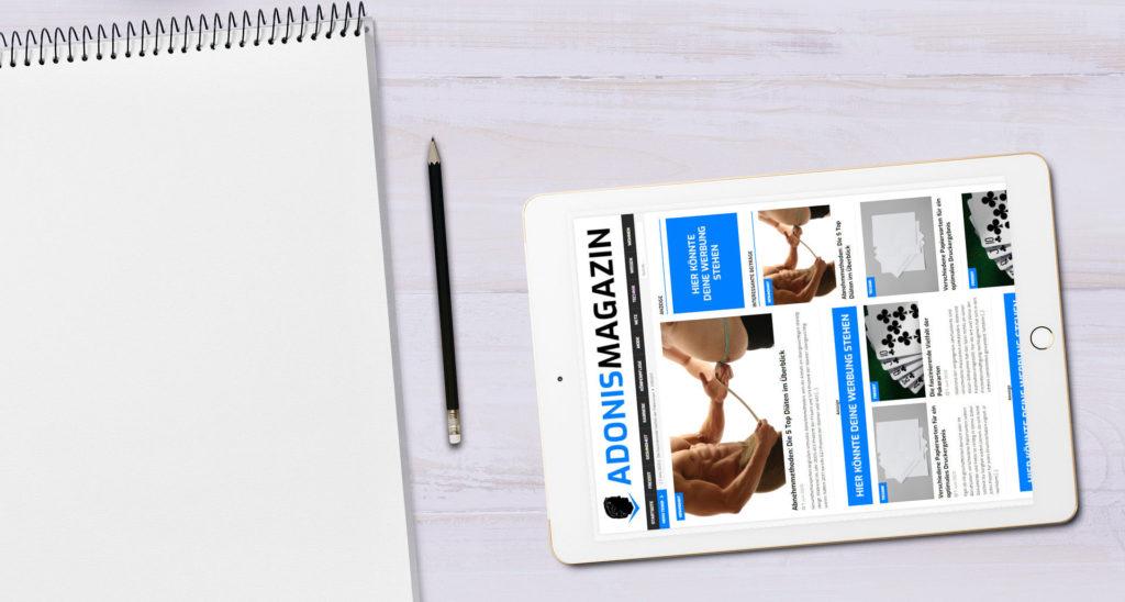 Pressebild Tablet