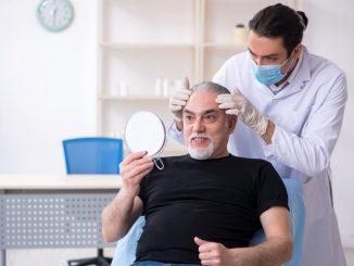 Comfort-In Methode Nadellose Haartransplantation Betäubung