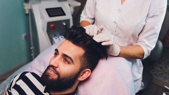 PRP-Behandlung nach der Haartransplantation